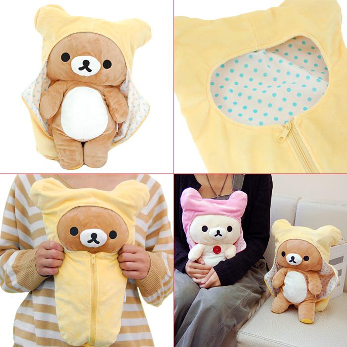 Toy rilakkuma kuttari rilakkuma sleeping bags with ○-plush rilakkuma MD18201