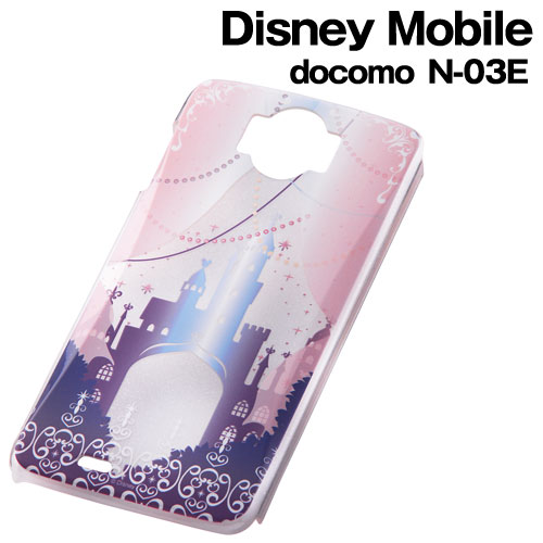 ☆ ◆ Disney docomo Disney Mobile (N-03E)-only character, clear sparkles and Shell Jacket Castle RT-DN03EB/CA