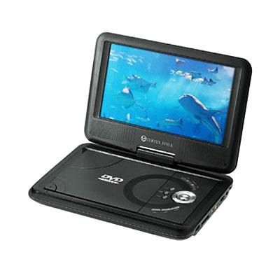 ◆ CPRM 可擕式 DVD 播放機可擕式 dvd 播放機 9 寸黑色 PDVD V092BK