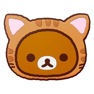 ◆ rilakkuma 放鬆貓多摩安全帶塞子 rilakkuma RK248 20P23Sep15