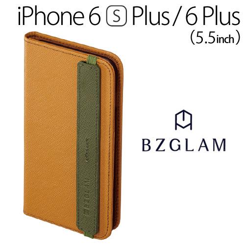 【送料無料】☆◆ BZGLAM iPhone6s Plus iPhone6 Plus (5.5インチ) 専用 レザーダイアリーカバー ブラウン i6PS-BZ05【iphone/IPHONE/アイフォン/シックス/エス/プラス/ケース/カバー/ジャケット/手帳型/ブックタイプ/レザー】