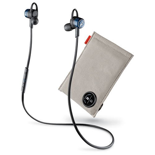 【送料無料】◆ Plantronics Bluetooth ステレオヘッドセット BackBeat GO 3 コバルトブラック 充電ケース付 BACKBEATGO3-CB-C【プラントロニクス/ブルートゥース/ヘッドセット/ヘッドホン/イヤホン/スマートフォン/スマホ】