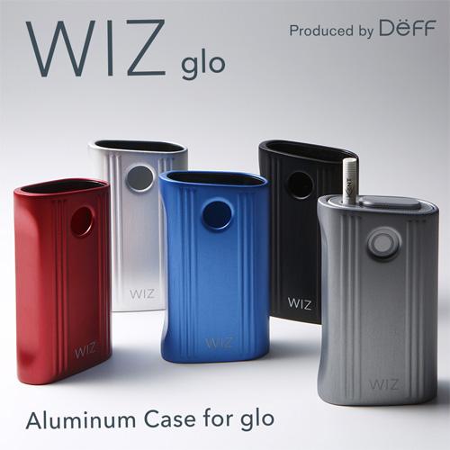 ☆◆ Deff glo 専用 アルミ製ジャケットケース Aluminum Case for glo WAC-GLO【glo/GLO/グロー/電子タバコ/着せ替え/カバー/ケース/ジャケット/加熱式タバコ】