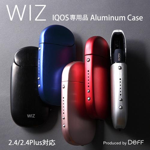 【送料無料】☆◆ Deff IQOS 専用 アルミニウムケース Aluminum Case for 2.4/2.4 Plus WAC-IQOS【iQOS/IQOS/iqos/アイコス/電子タバコ/加熱式タバコ/ブラック/ブルー/ピンク/レッド/シルバー/ゴールド/グラファイト/パープル/ネイビー/オレンジ】