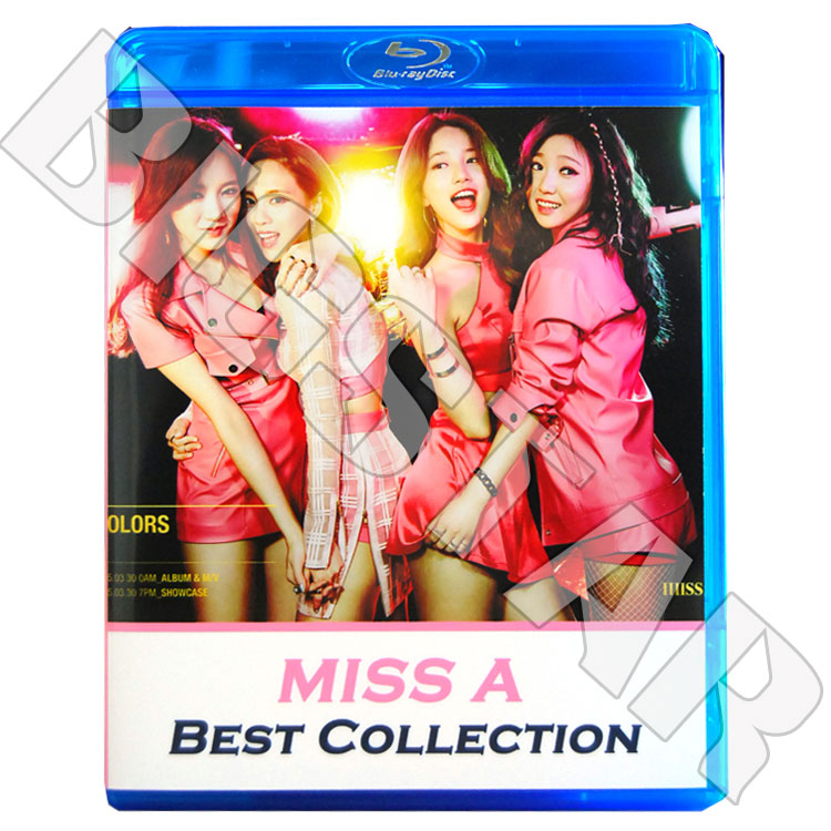 【Blu-ray】☆★MISS A BEST Collection ★Only You Love Song Hush Bad Girl Good GirlK-POPブルーレイDisc★【MISS A ブルーレイ】【メール便は2枚まで】