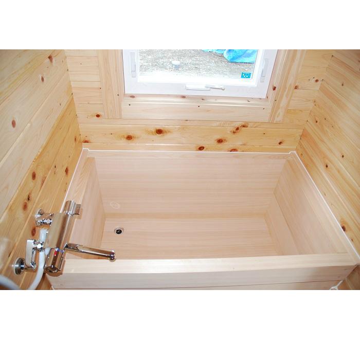 ひのきふろ 桧風呂 木製浴槽 伊賀桧 1人用