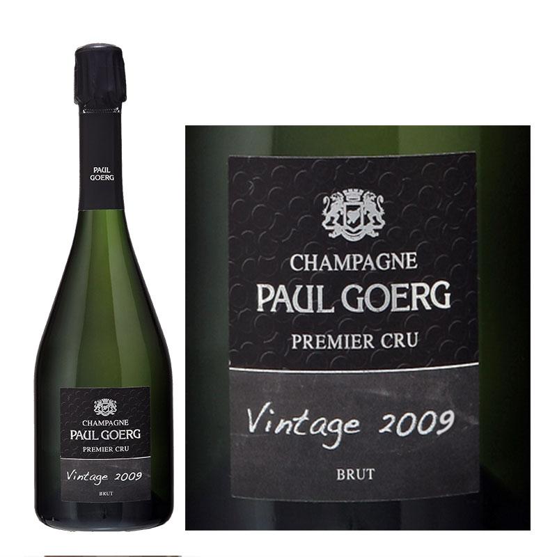 ポール・グール ヴィンテージ2009 プルミエ・クリュ