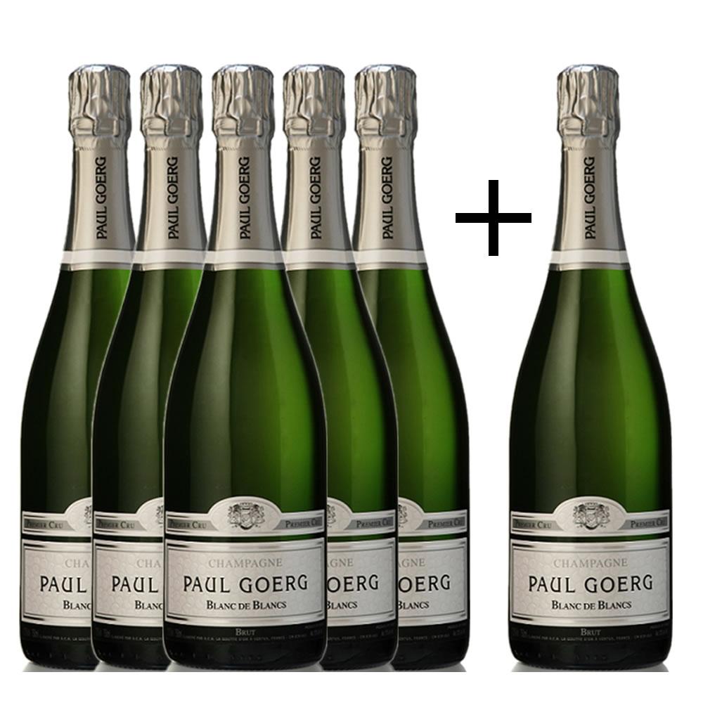 ポール・グール ブラン・ド・ブラン プルミエ・クリュ お得な6本セット