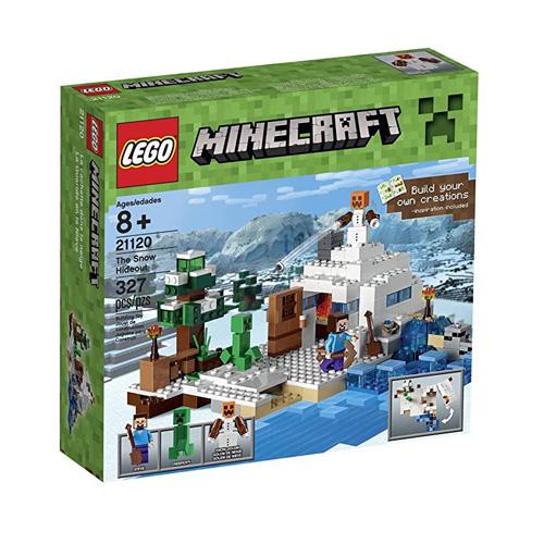 LEGO レゴ マインクラフト 雪の隠れ家 The Snow Hideout 21120◆新品Sa【即納】