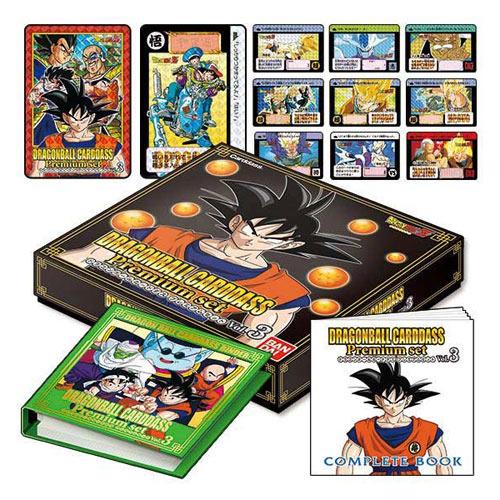 あす楽 ドラゴンボールカードダス Premium set Vol.3 コンビニ受取 商品 郵便局受取対応 至上 新品Ss 即納