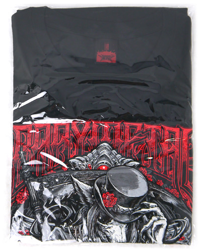 BABYMETAL/「SILK TOP HAT FOX」TEE Tシャツ(M)◆新品Ss【即納】【ゆうパケット/コンビニ受取/郵便局受取対応】