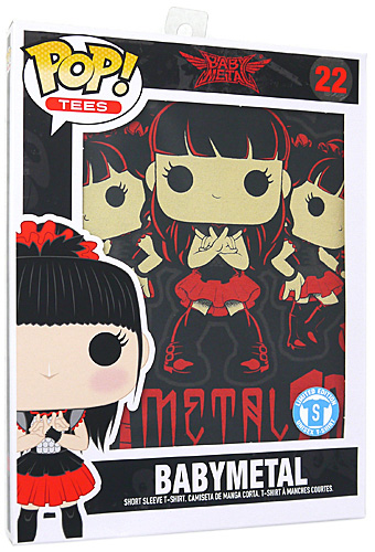 BABYMETAL Rock Poster Pop T-Shirt Tシャツ(S)◆新品Ss【即納】