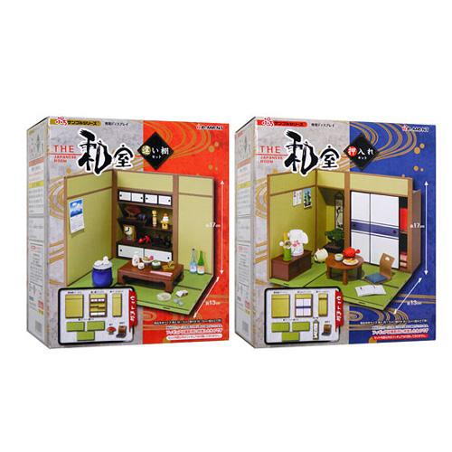 リーメント ぷちサンプルシリーズ THE 和室 違い棚セット&押し入れセット◆新品Ss【即納】
