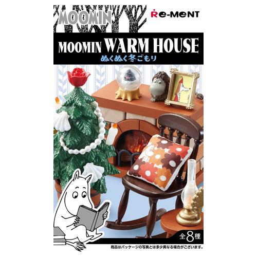 リーメント ムーミン MOOMIN WARM HOUSE ぬくぬく冬ごもり 全8種/BOX◆新品Ss【即納】