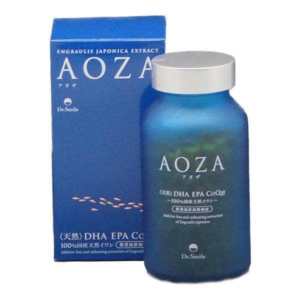 ドクタースマイル AOZA アオザ 300粒 天然DHA・EPA・CoQ10/100%国産天然イワシ