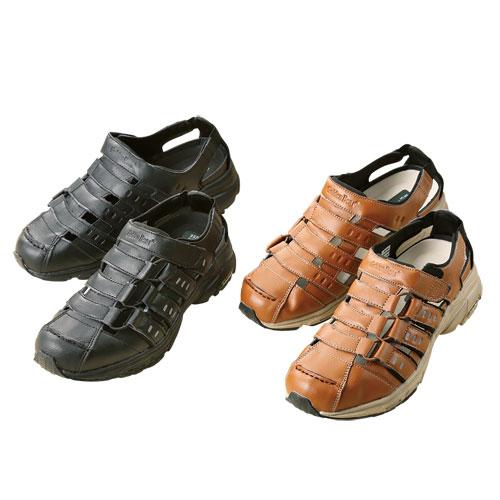 ※お取り寄せ商品です ゴールデンベア サマーシューズ 全2色 新品 2020新作 送料無料 p18227靴 サンダル メンズ シニア キャメル スニーカー 紳士 黒 カジュアル