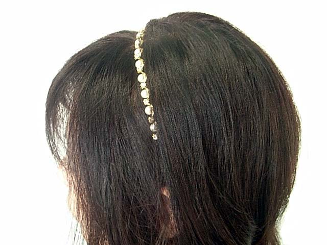 Beauty hair headband Pearl wave? s heaakuse / hair accessories / hair / Party invited here range / ornament / hairstyles? t s?