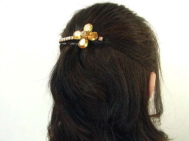hair style for parties bijinkoeido beautiful hair jewelry barrette 5880 | img51689272