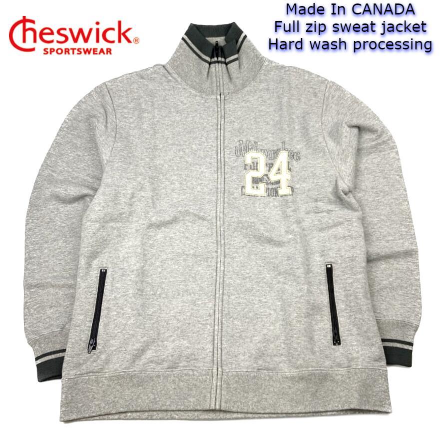 デッドストック Cheswick ZIP スウェット スペシャルプライス カナダ製 チェスウィック Made In トラスト CANADA Full jacket ついに再販開始 wash CH62237 フルジップ zip hard ハードウォッシュ加工 sweat processing 送料無料 ジャケット