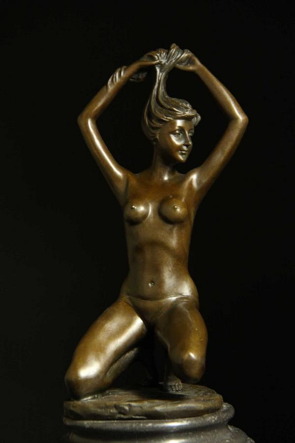 【送料無料】超人気ブロンズ◇像『裸婦』29.5cm◇Jean Patou大名品