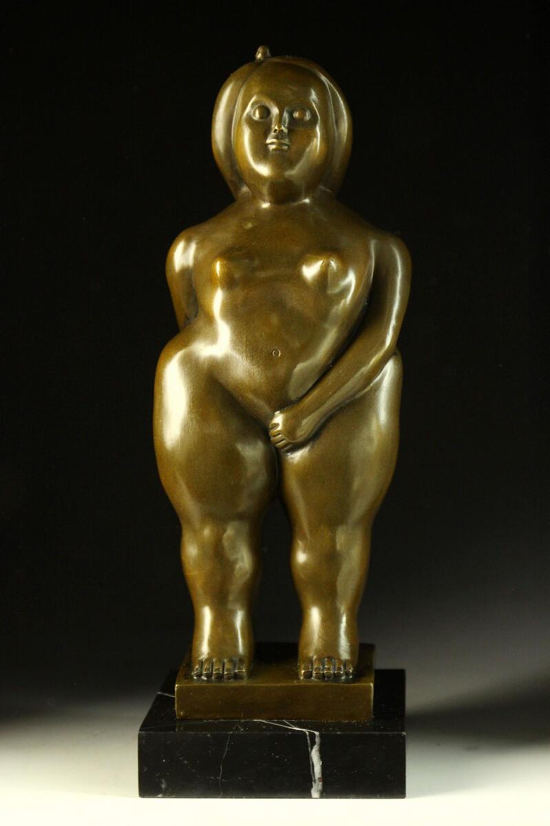 【送料無料】大人気ブロンズ像 立つ太い裸婦 Botero 立つ太い裸婦 Botero 37.5cmインテリア彫刻フィギュア, パウンドケーキ工房 パリ21区:06e946ce --- sunward.msk.ru