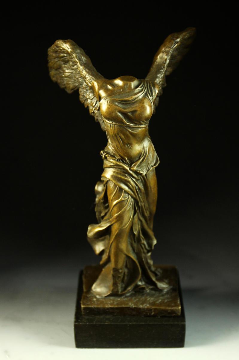 【送料無料】人気ブロンズ像 サモトラケのニケ ルーヴル美術館の至宝置物彫刻銅像インテリア, トローリングマリン用品SEA企画:af85f515 --- sunward.msk.ru