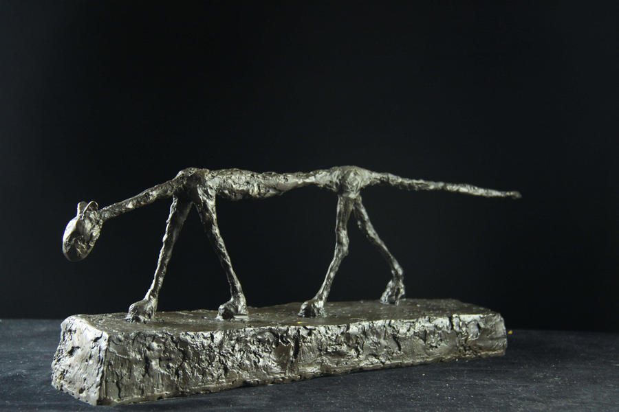 【送料無料 名作インテリア】大人気ブロンズ像 猫 ジャコメッテ ジャコメッテ 猫 名作インテリア 彫刻 銅像, 児玉町:4309d551 --- sunward.msk.ru