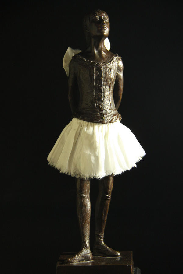 【送料無料】大型ブロンズ◇14歳の小さな踊り子◇エドガー・ドガ◇作