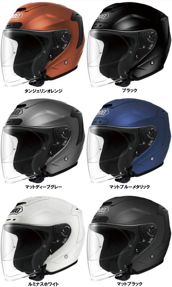 J-FORCE4 j - force for 6 colors 6 sizes full face helmet SHOEI