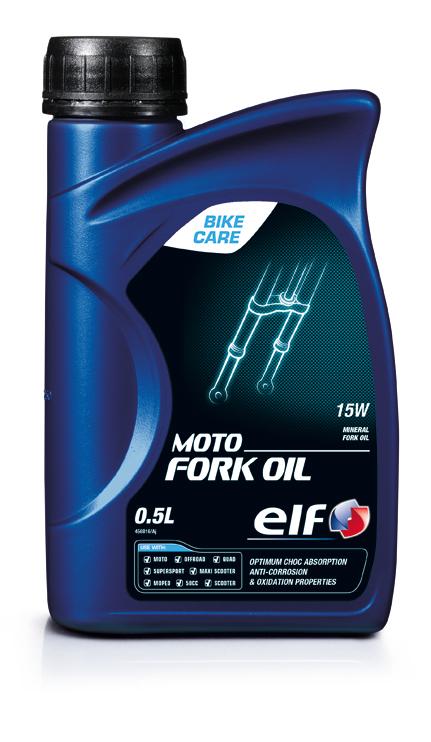 エルフ elf 最新 エルフ二輪用 超人気 専門店 フォークオイル MOTO 0.5L OIL FORK 15W