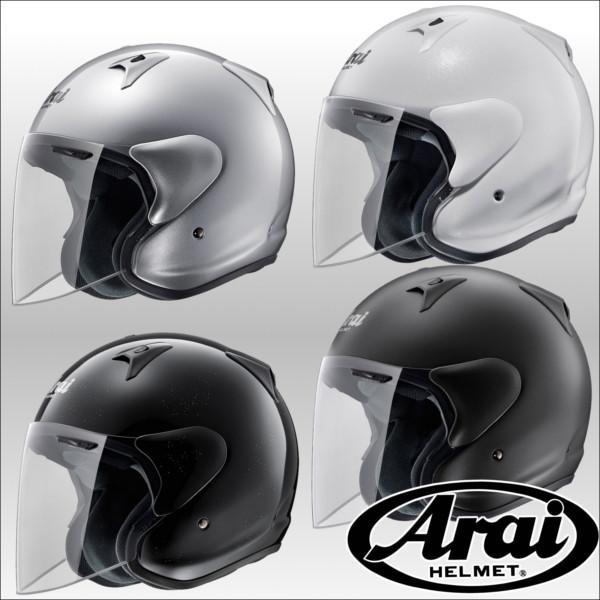 Arai SZ-G オープンフェイスジェットヘルメット エスゼットジー アライ グラスホワイト/61-62