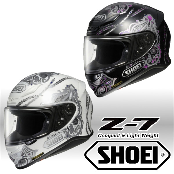 ショウエイ Z-7 DUCHESS ダッチェス フルフェイスヘルメット SHOEI Z7