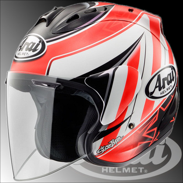 Alai sz-RAM4 HAYDEN STAR open face Jet helmet RAM 4 ヘイデンスター