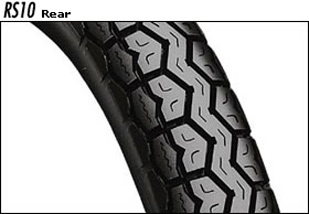 BRIDGESTONE RS10 MCS00573 2.75-18 브리지스톤 타이어 Rear Safety