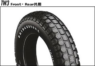 BRIDGESTONE TW3 SCS00176 3.50-10 브리지스톤 타이어 TRAIL WING