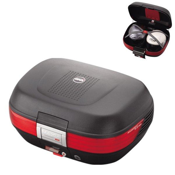 지비 MONOKEY CASE E50 MAXIA 시리즈미도장 블랙(스톱 램프 없음) E50N /69313 GIVI