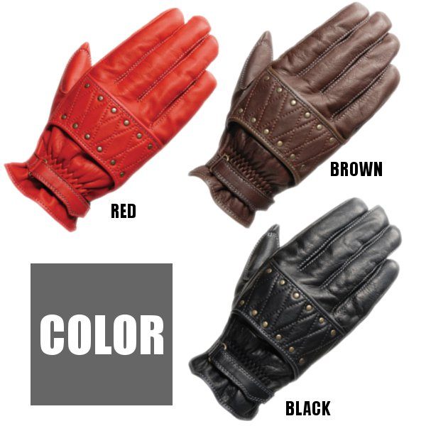 SIMPSON tooling leather glove riders SG-915