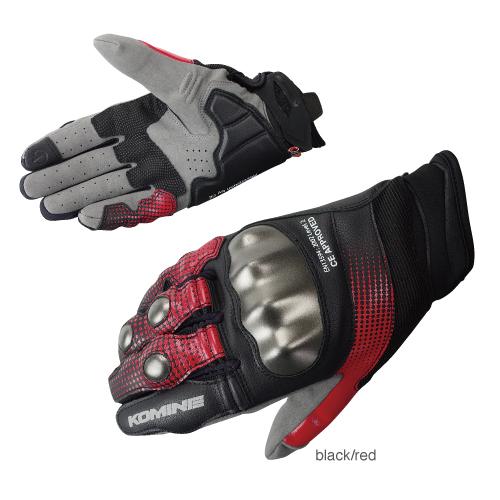 コミネ GK-186 보호 CE 메쉬 글러브-スパーブ Protect CE M-Gloves-SUPERB KOMINE