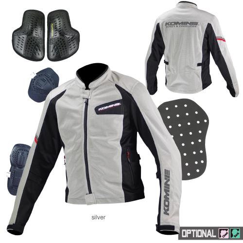 Komine JK-100 protect full mesh jacket Protect Full M-JKT KOMINE