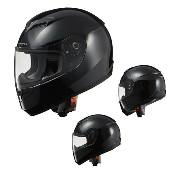 リード工業 SF-12 ストラックス フルフェイスヘルメット ブラック L バイク用