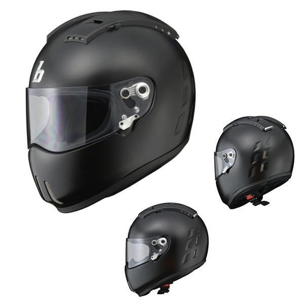 リード工業 ヘルメット DRAGGER2 フルフェイスヘルメット マットブラック L バイク用