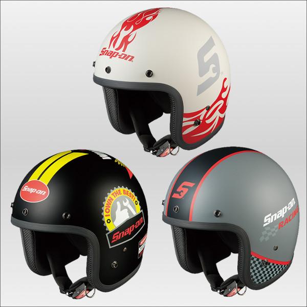 OGKカブト フォーク スナップオンコラボモデル ジェットヘルメット FOLK SNAP ON KABUTO