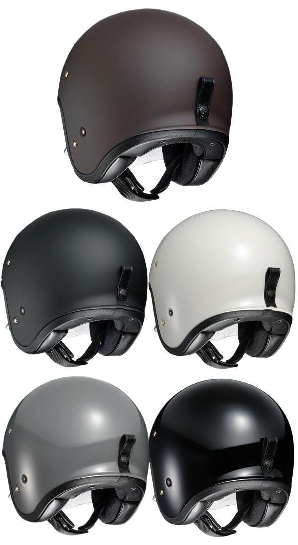 SHOEI J.O 제 오 오픈 페이스 헬멧 제트 헬멧 마운트 웨이