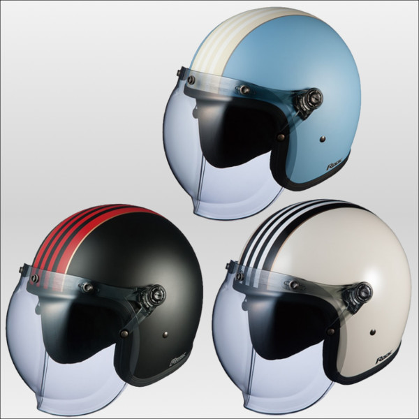 OGKカブト ロックジーワン ジェットヘルメット ROCK G1 KABUTO