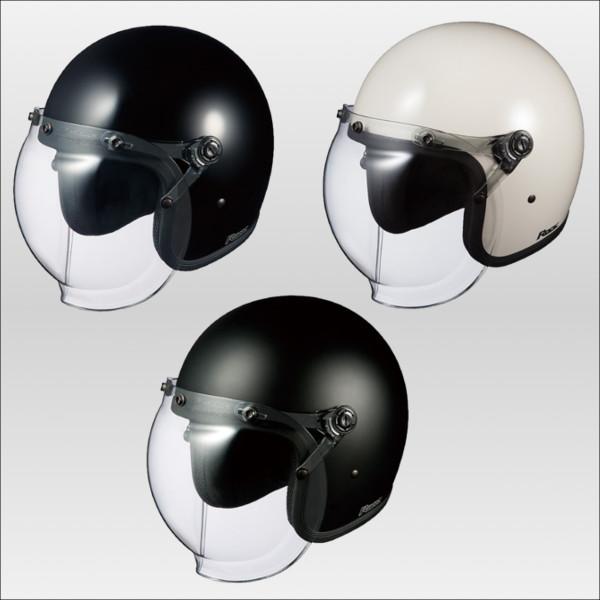 OGKカブト ロック ジェットヘルメット ROCK KABUTO ブラック/57-59cm