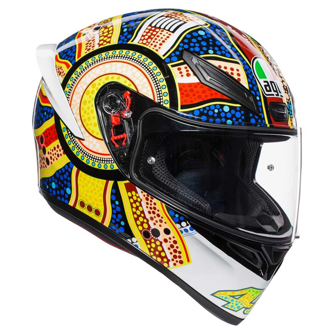 フルフェイスヘルメット AGV フルフェイスヘルメット K1 TOP DREAMTIME Lサイズ