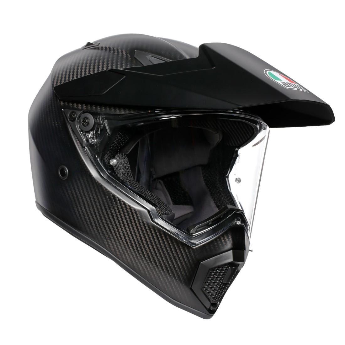 AGV フルフェイスヘルメット AX9 001-MATT CARBON マットカーボン Sサイズ