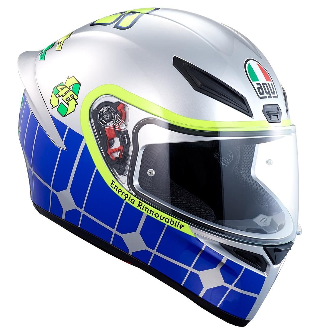 AGV フルフェイスヘルメット K1 007-ROSSI MUGELLO 2015 Mサイズ
