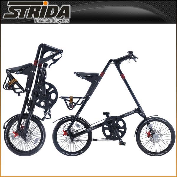 ストライダ 折りたたみ自転車 EVO (MATT BLACK)【小径車】【STRIDA 】