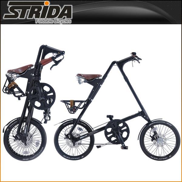 ストライダ 折りたたみ自転車 SX (MATT BLACK)【小径車】【STRIDA 】